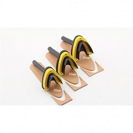 V - образна щанца 30мм за колани, каишки, ленти