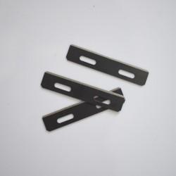 3 бр. резервни ножове за изтъняване на кожа
