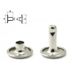 Двулицеви рапиди 7 мм- Никел - 20бр