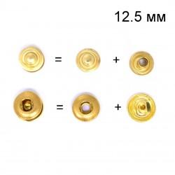 20 бр. тик так копчета 12.5 мм - злато