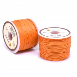 100М / 0.7мм Парафиниран конец - оранжев