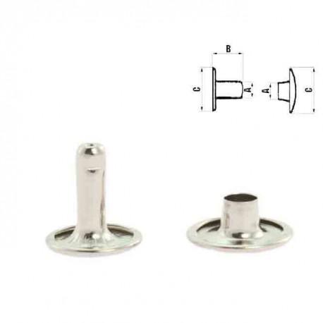 Двулицев рапид 10 мм - никел