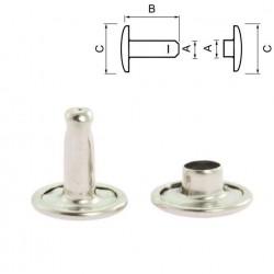 Двулицев рапид 11 мм - никел