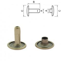 Двулицев рапид 10 мм - антик