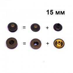 20 бр. тик так копчета 15 мм - антик