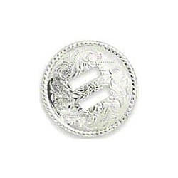 Кончо месинг/сребро 40 мм