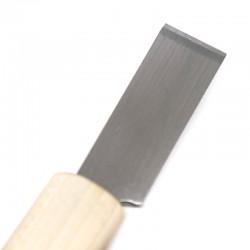 Прав нож за рязане /изтъняване/ на кожа 36мм Япония