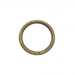 Стоманен пръстен / халка 30/4,0 мм - Антик