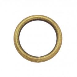 Стоманен пръстен / халка 35/4,0 мм - Антик
