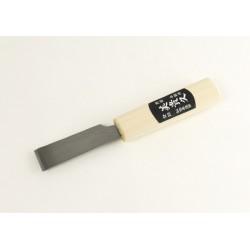 Прав нож за рязане /изтъняване/ на кожа 24мм Япония